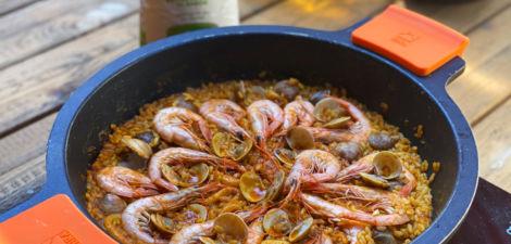 receta de paella fácil