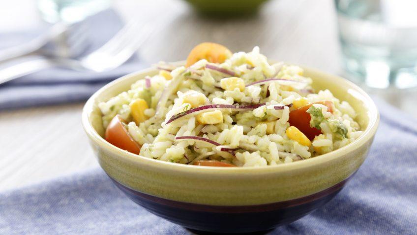 Ensalada de arroz y guacamole XL