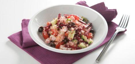 Ensalada de quinoa y remolacha