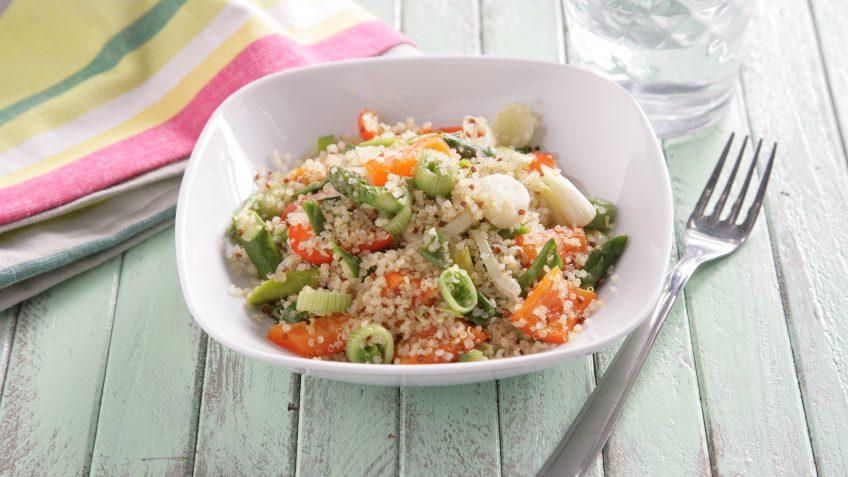 quinoa con trigueros