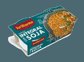 Arroz integral con soja