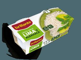 Arroz sabor lima y albahaca