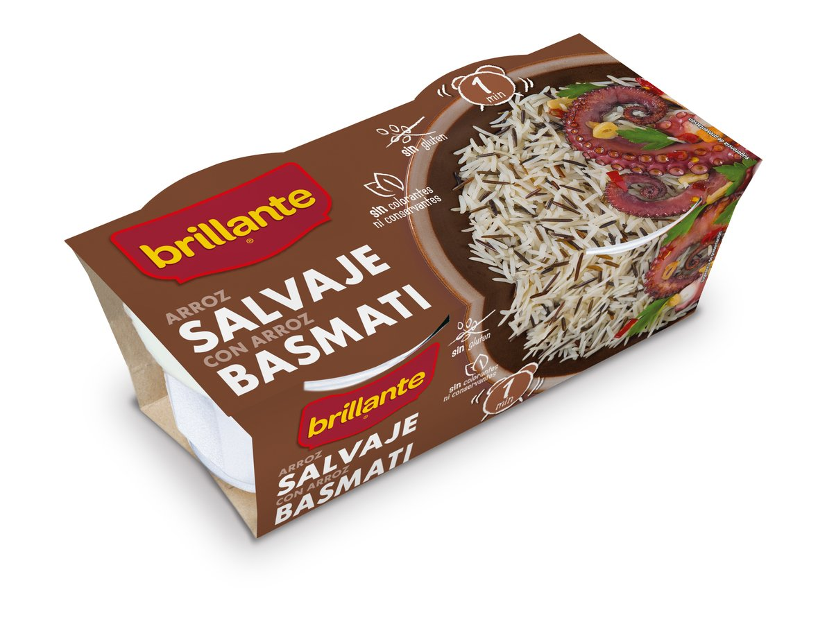 BRILLANTE VASITOS SALVAJE BASMATI