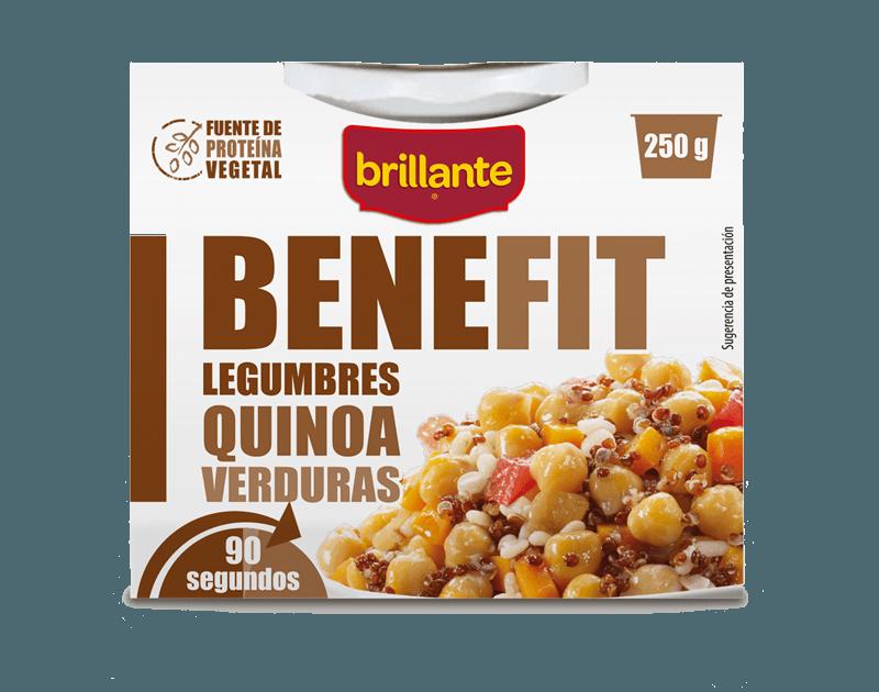Legumbres Quinoa y Verduras