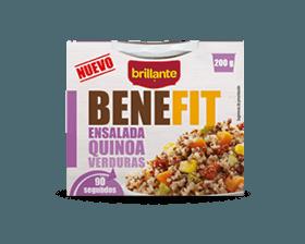 Brillante benefit ensalada quinoa