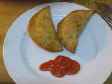 Empanadillas de arroz y tomate (especial niños)