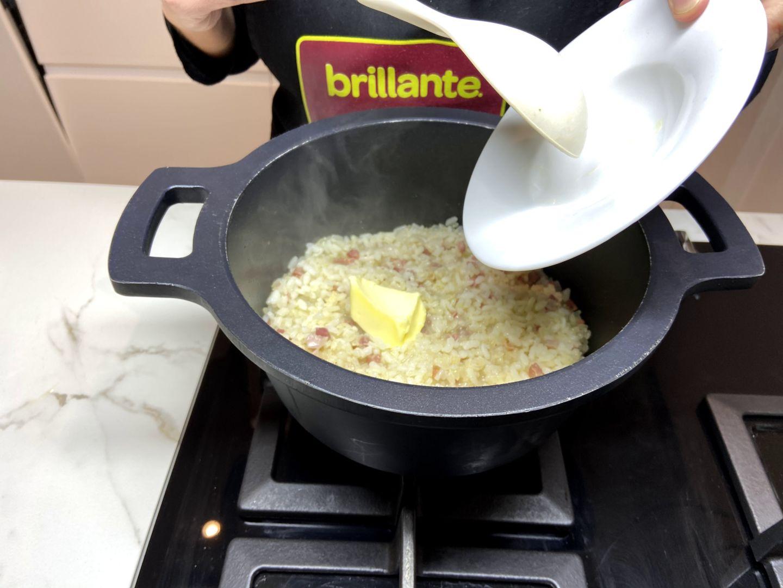 incorporamos la mantequilla
