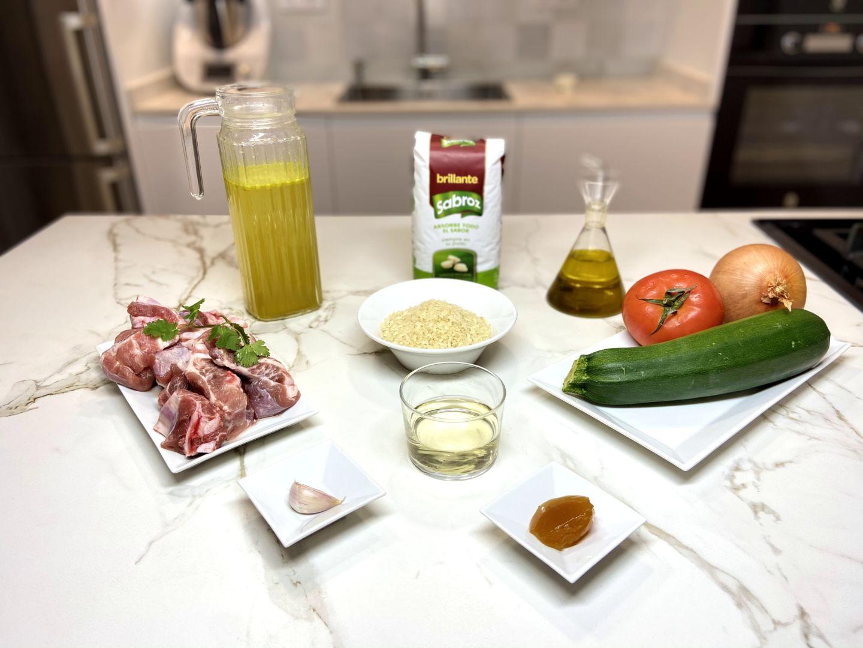 ingredientes para arroz con costillas
