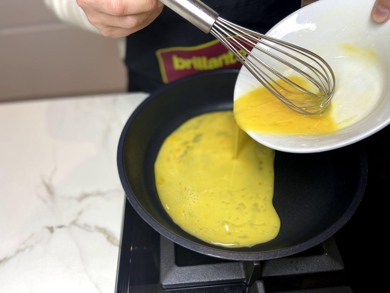 hacemos una tortilla francesa