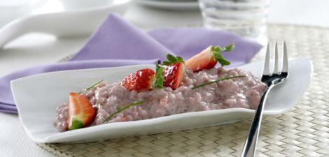 Risotto de fresas