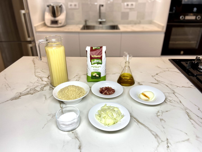 ingredientes para sopa de arroz