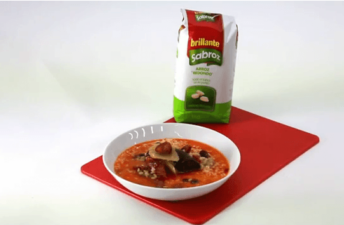 Arroz serrano caldoso – Recetas de arroz Brillante Sabroz