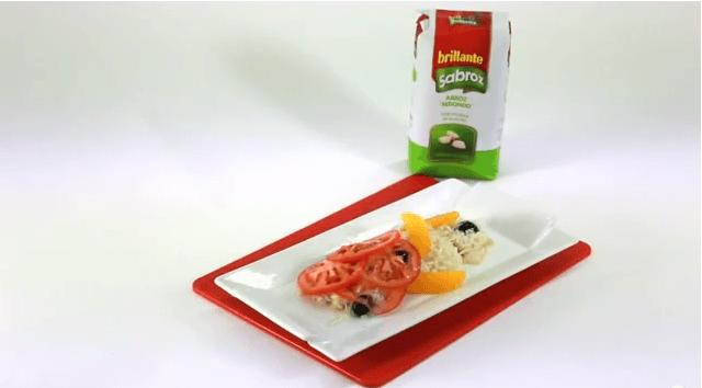 Ensalada de bacalao – Recetas de arroz Brillante Sabroz
