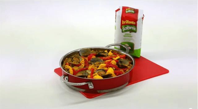 Arroz con pescado – Recetas de arroz Brillante Sabroz