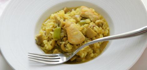 Arroz al curry: receta completa