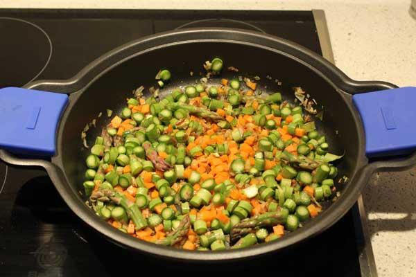 zanahoria y trigueros