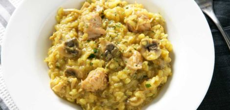 Arroz con pollo en Thermomix