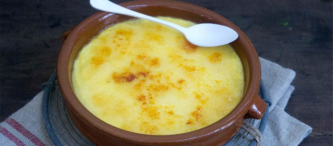 Crema catalana de arroz en Thermomix