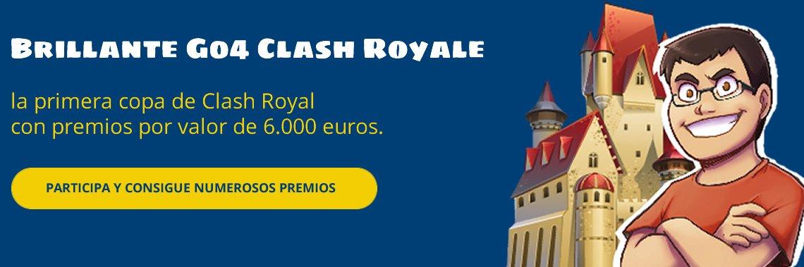 Participa en la promoción Brillante Go4 Clash Royale