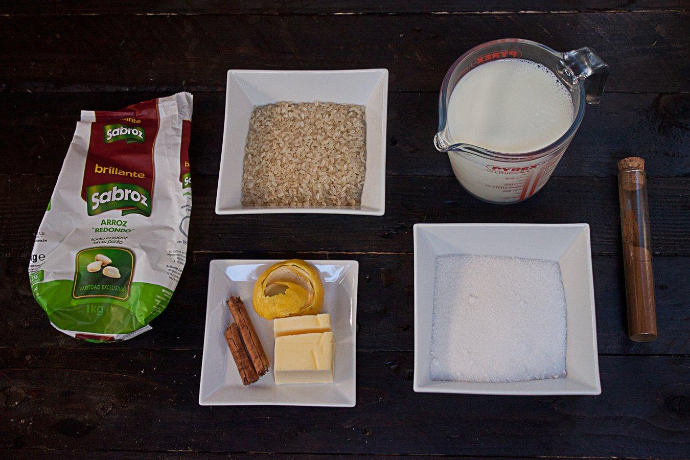 Ingredientes-para-preparar-arroz-con-leche