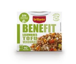 Legumbres Tofu y Verduras
