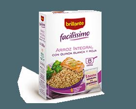 Brillante Facilissimo arroz integral con quinoa blanca y roja