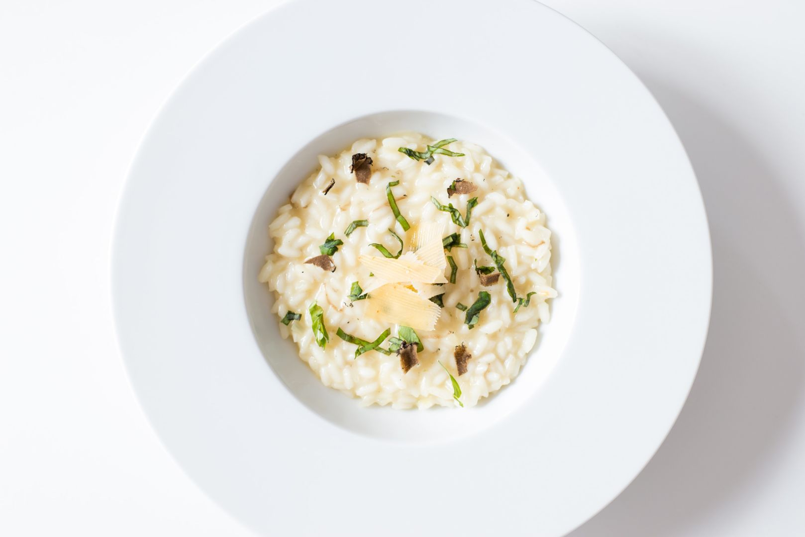 Receta de risotto con vasito Brillante