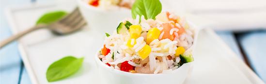 receta de arroz basmati con pollo y manzana