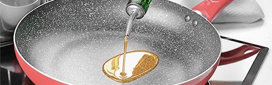Esperamos que se caliente el aceite en la sartén