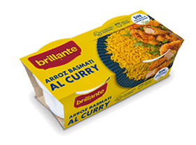 Arroz basmati al curry