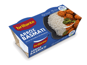 Brillante. Arroz basmati