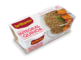 Brillante. Arroz integral con quinoa