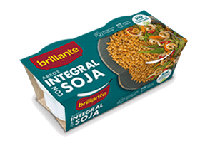 Brillante. Arroz integral con soja