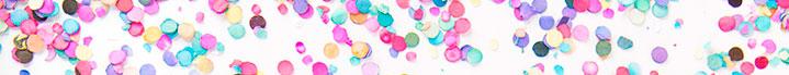 confeti para cumpleaños