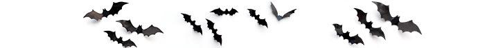 iconos de murciélagos para halloween
