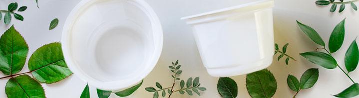 reciclar vasitos de Brillante
