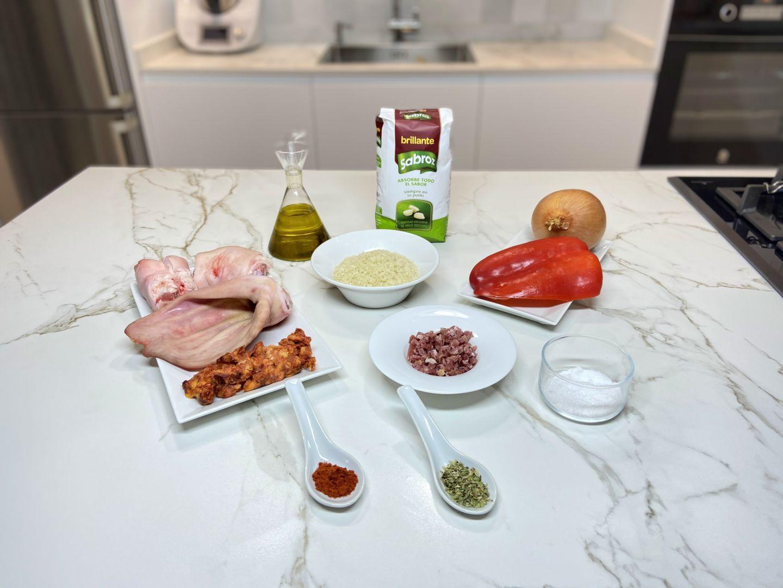 Ingredientes para hacer arroz a la zamorana