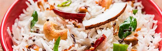 Vasitos de arroz Brillante Basmati