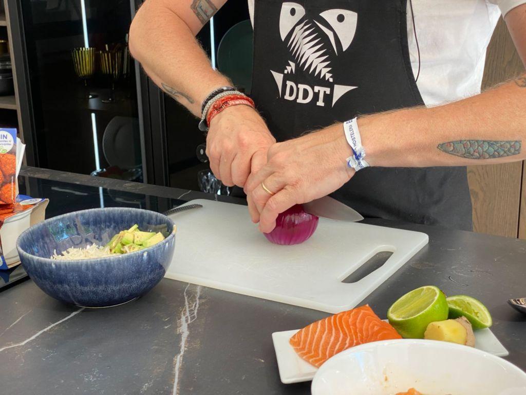 Cortamos la cebolla