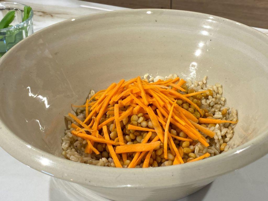 Añadimos las zanahorias