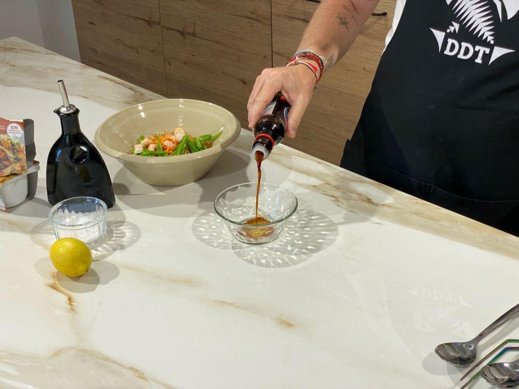 Añadimos salsa de soja