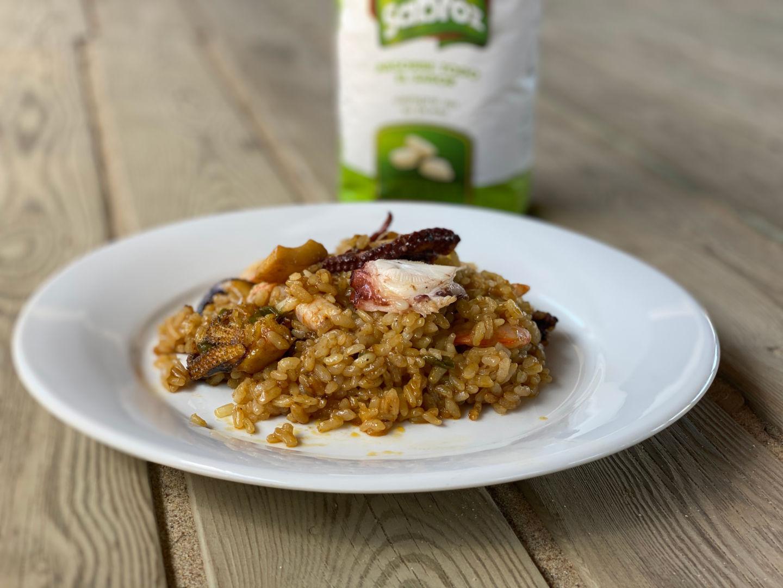 Receta de arroz con marisco